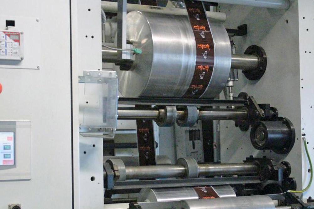 Verpackung Fleischindustrie Druckmaschine