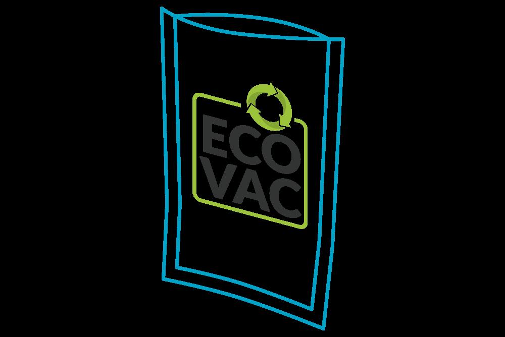 100% Recyclebarer Vakuumbeutel EcoVac